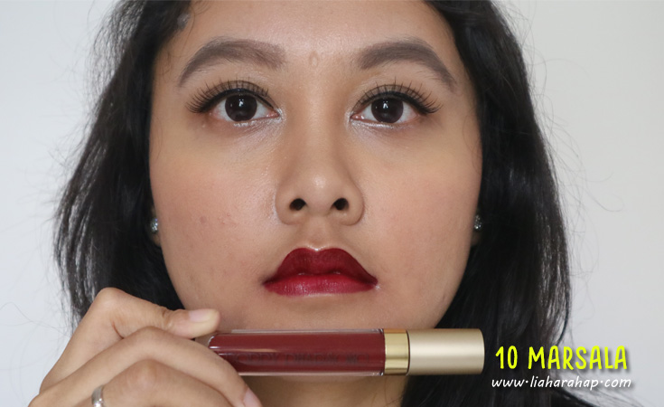 Poppy Dharsono Liquefied Matte Lip Color Review