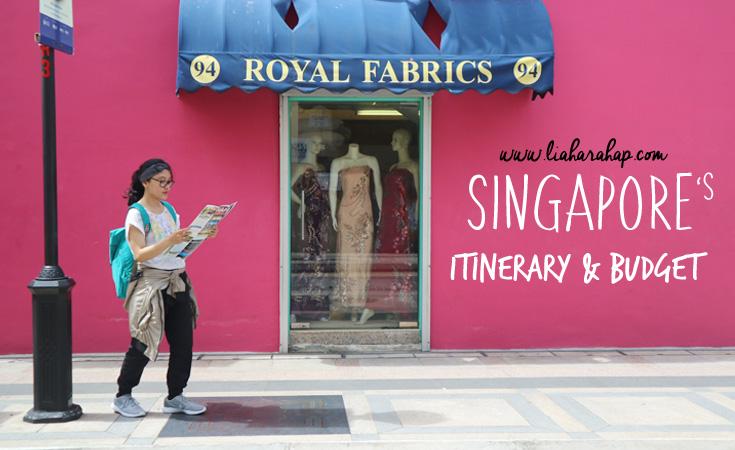 My Singapore Itinerary and Budget [2 Juta Rupiah Bisa