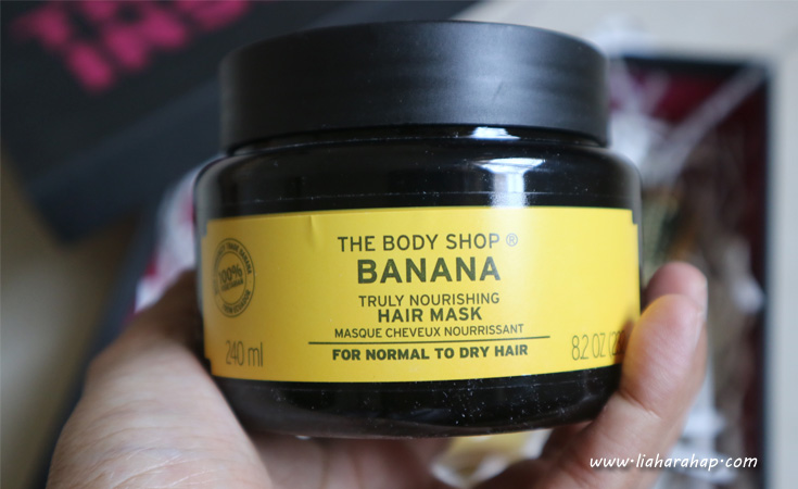 The Body Shop Banana Hair Care