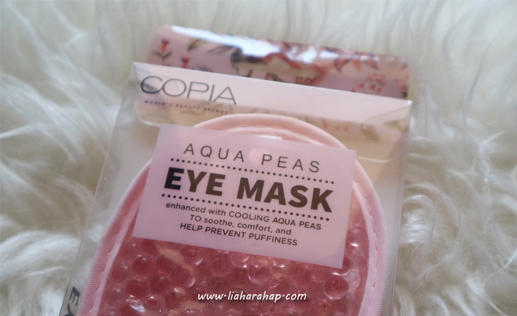 Copia Aqua Peas Eye Mask