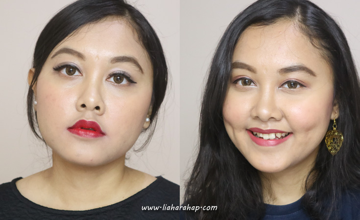 hasil pemakaian cushion makeup