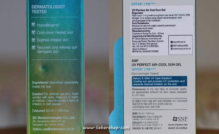 snp sunscreen