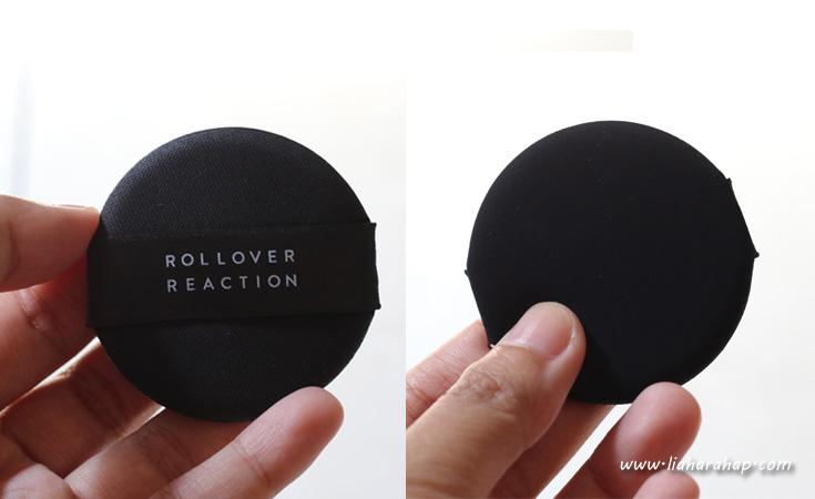 rollover reaction cushion