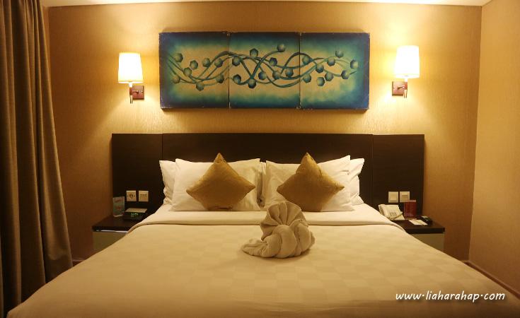 deluxe double bed