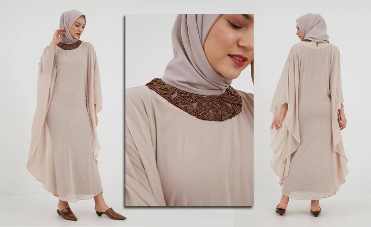 model baju lebaran 2019 kaftan hijabenka