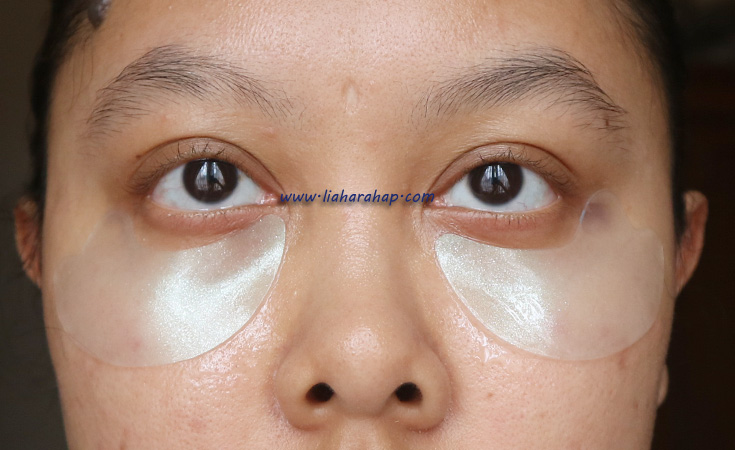eye patch di bawah mata