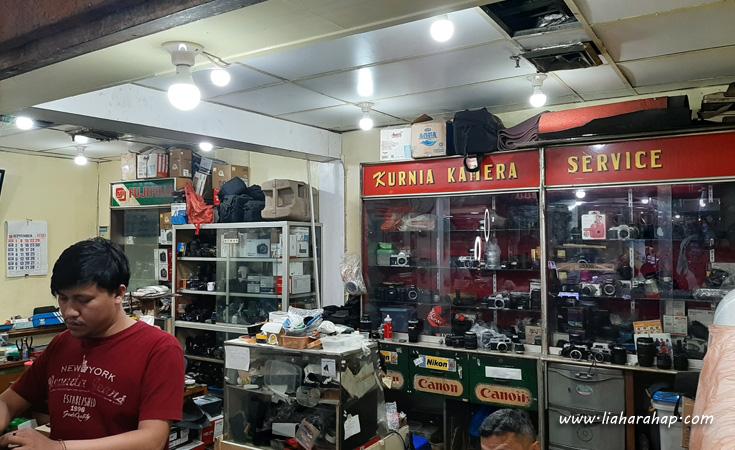 kurnia kamera service pasar baru