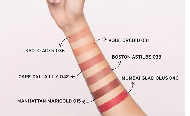 the body shop swatches