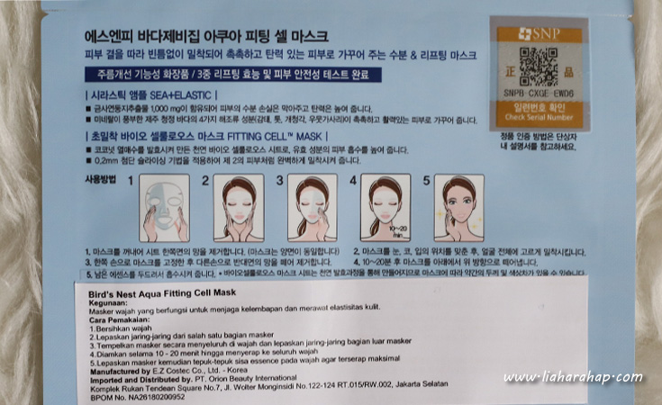 sheet mask untuk kulit kering