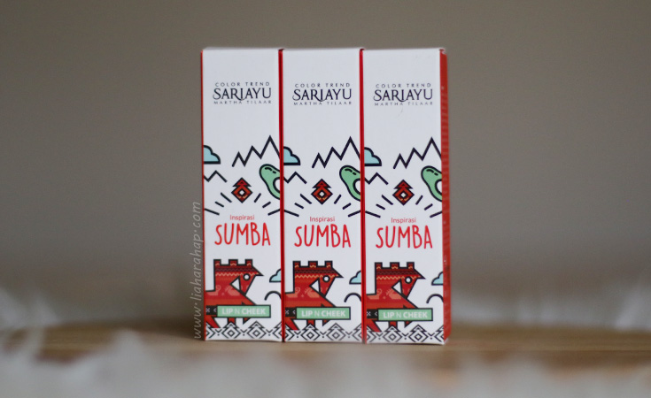 sariayu lip and cheek color trend 2020