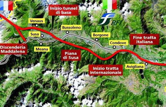 Le point sur l'actualité de la future ligne de TGV Lyon-Turin (1/3)