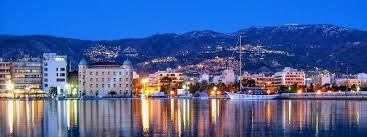 City of Volos by night