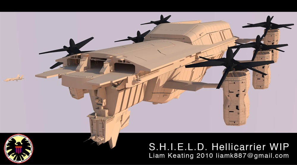 Project - S.H.I.E.L.D. Helicarrier (2010-Current) (1/6)