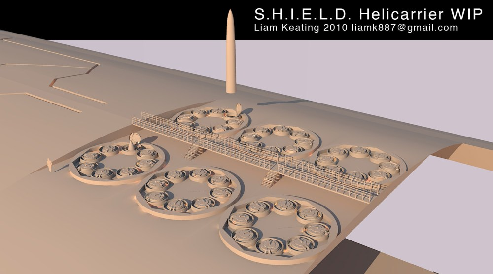 Project - S.H.I.E.L.D. Helicarrier (2010-Current) (4/6)