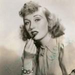 Muriel Angelus.