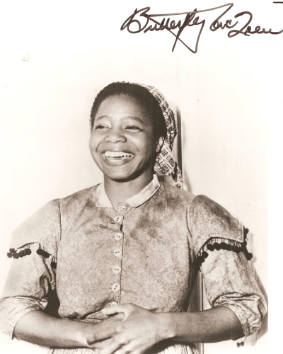 Butterfly McQueen - Movies & Autographed Portraits Through ...  Butterfly Mcqueen Gone With The Wind