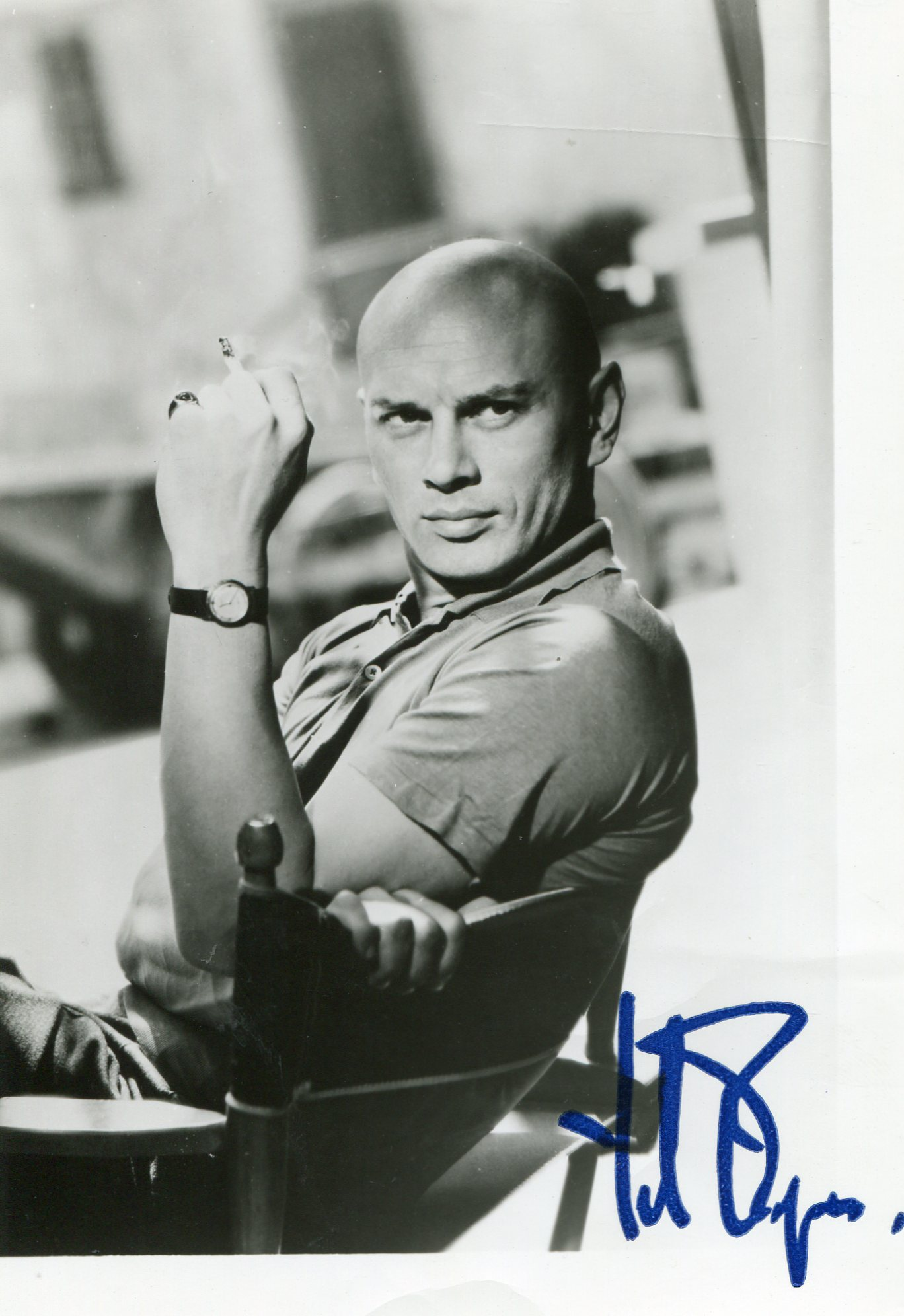 yul brynner archives movies autographed portraits. Black Bedroom Furniture Sets. Home Design Ideas
