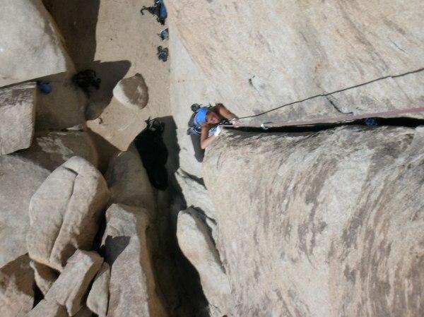 Crack Climbing In Joshua Tree National Park Ca Liam Bowler