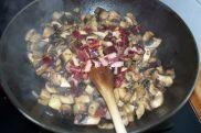 champiñones con jamon