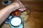 ajo blanco de avellanas