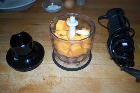 buñuelos de cebolletas y garbanzos