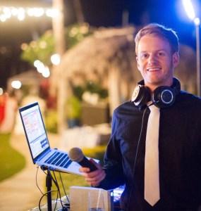DJ Liam at Four Seasons Maui Wedding DJ