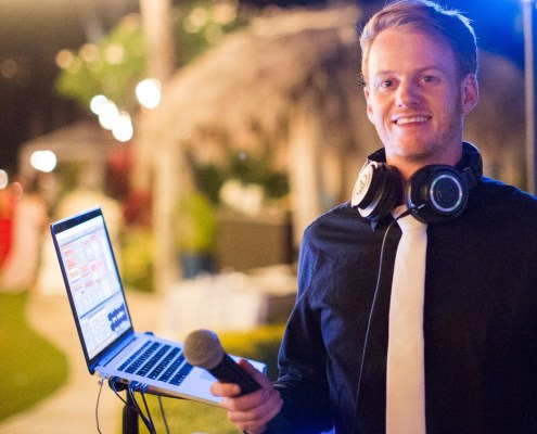 DJ Liam at Four Seasons Maui Wedding DJ