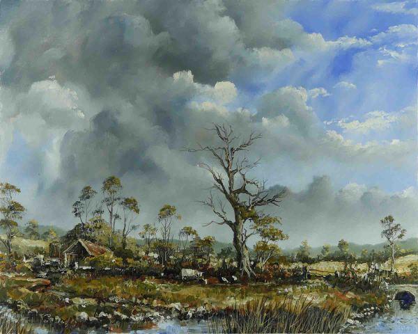 Pastoral Oil Paintings