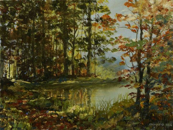 Forest Walk Painting