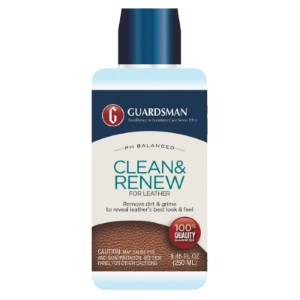Guardsman Clean & Renew for Leather Review
