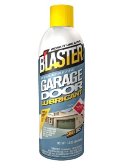 Blaster Garage Door Lubricant Review
