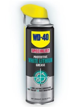 WD-40 Specialist White Lithium Grease Lubricant Review