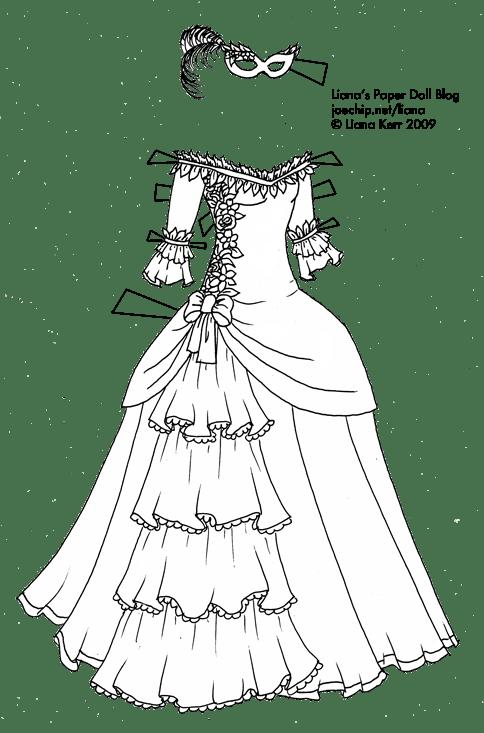 Halloween Masquerade Series #1: Black and White Masquerade