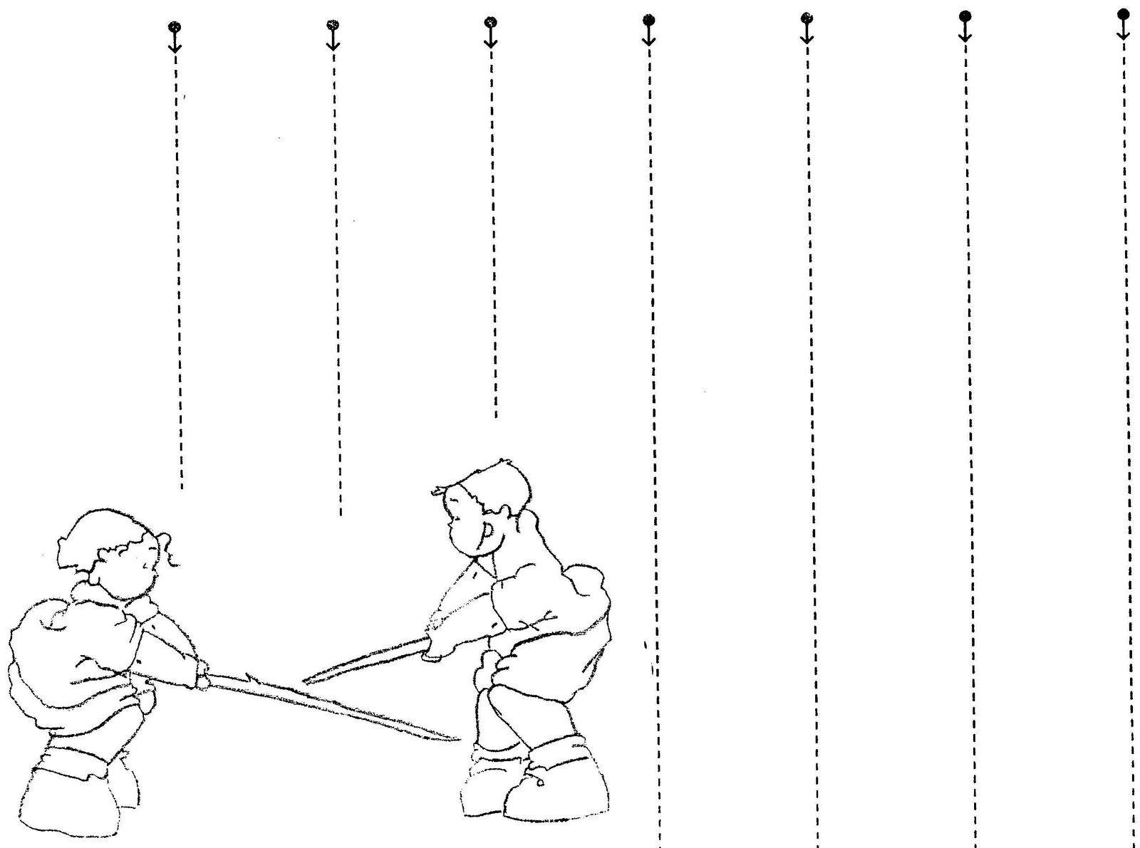 Vertical Lines Worksheet For Nursery