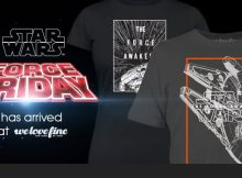 Force Friday Star Wars: The Force Awakens online merch sales 1