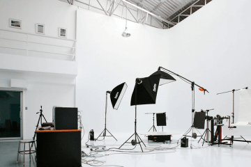 ecommerce photo studio from Shopify