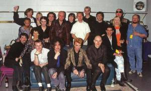 Bowie's 50th birthday party