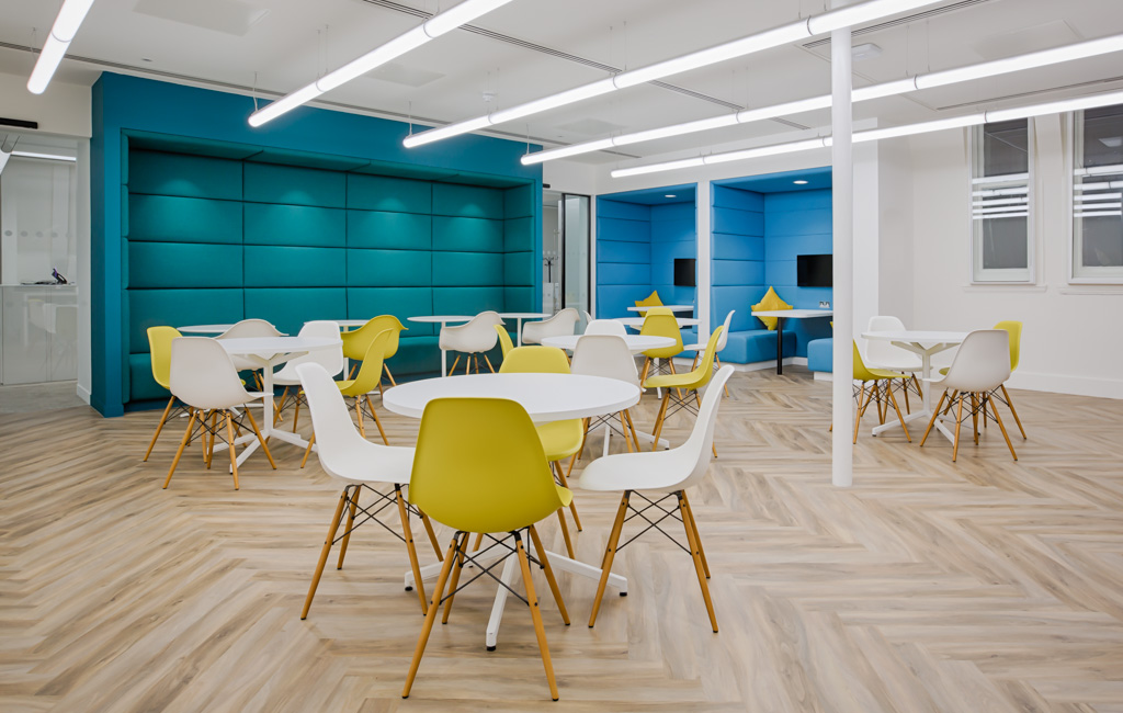 Interior Photography  – office fit out in London