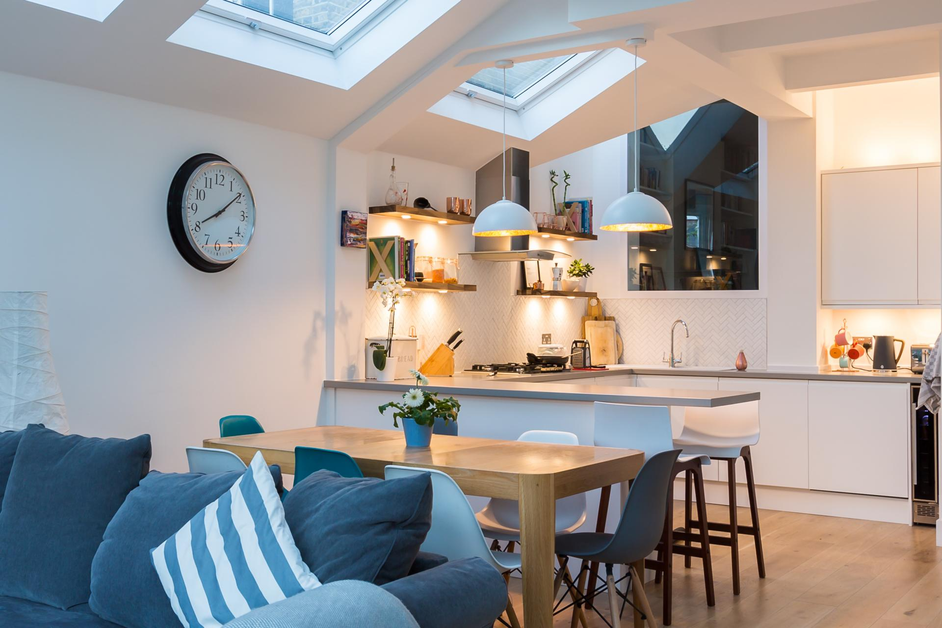 Interior Photography for New Kitchen Extension
