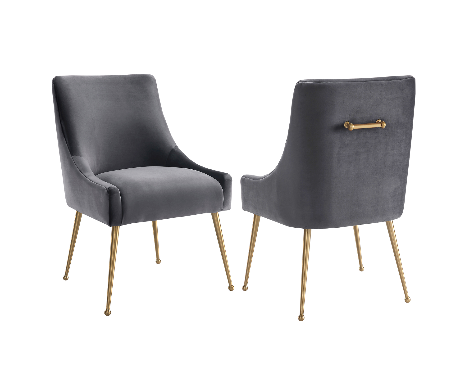 Grey Velvet Dining Chairs Cohen Dining Chair Liang And Eimil