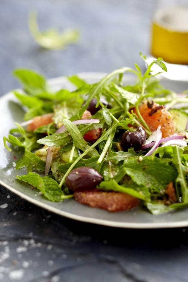 Orange Green Salad