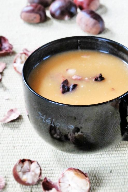 法式家常料理-南瓜馬鈴薯濃湯&南瓜栗子濃湯-1