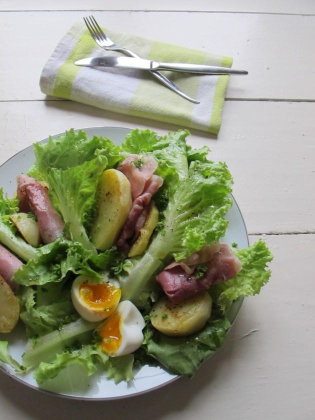 巴黎沙拉Salade parsienne