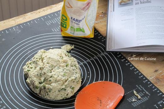 法國手工麵包-羅勒橄欖油麵包Le pain de basilic-4