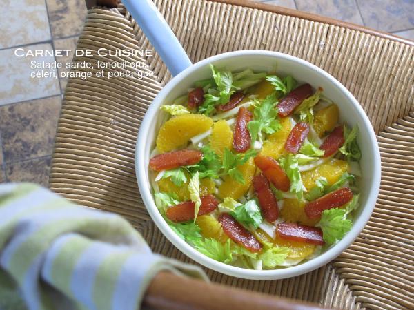 薩丁島烏魚子茴鄉甜橙沙拉-2