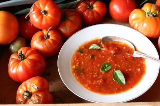 蕃茄甜椒冷湯