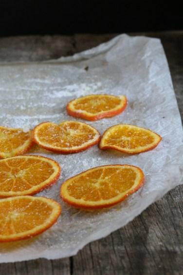 糖漬甜橙薄片Orange confite