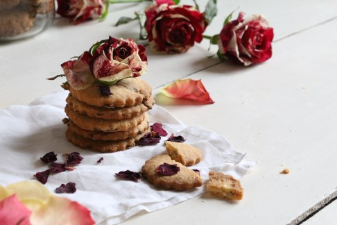 玫瑰花酥脆餅Bisuits au rose
