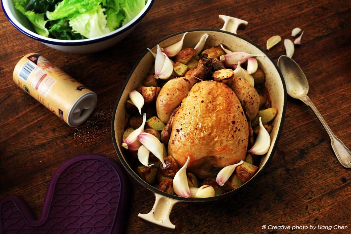 poulet roti de Charles.4