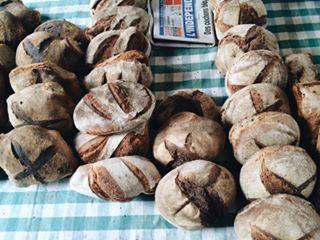 pain au feu du bois